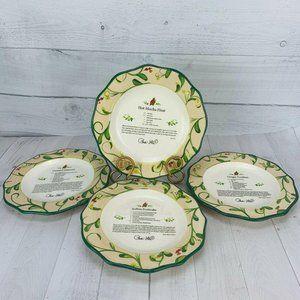 Paula Deen HOME FOR THE HOLIDAYS Salad Plates